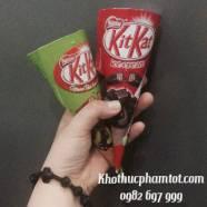 Kem Kitkat Trà Xanh Và Socola
