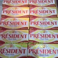 Bơ president 250g bơ lạt & mặn