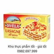 Mỳ lá trứng Divella Lasagne số 108 (có trứng)
