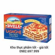 Mỳ lá Divella Lasagne số 109 (không trứng)