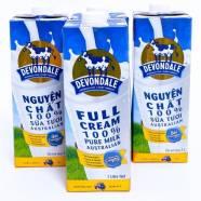Sữa tươi Úc Devondale Full Cream 1L