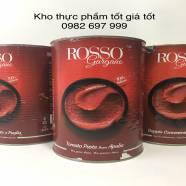 Cà chua Paste Rosso - Tomato paste hiệu Rosso Gargano - #Càchuađậmđặc #Rosso